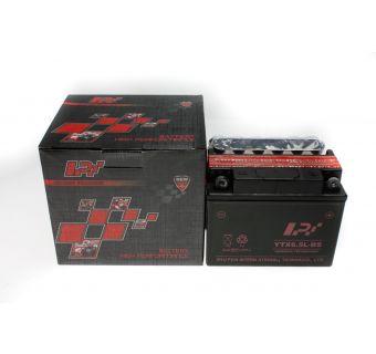 Batteri 12V 6,5Ah, L136 x B69 x H99, YTX 6,5L-BS  (LPI)