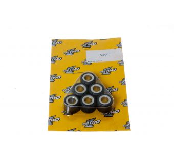 Variatorvikter 16x13mm 6,0 gram GY6 (6st) LPI