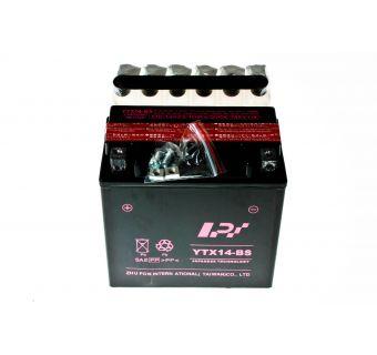 Batteri 12V 12Ah,  L148 x B85 x H146  YTX14-BS (LPI)