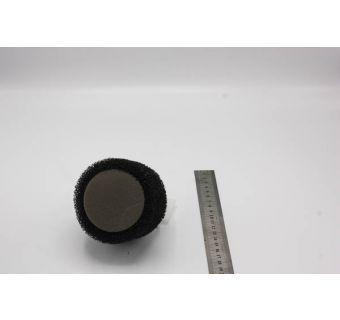 Luftfilter uni svart 36-40mm Rakt, 115mm lång (T/A 26-30mm)