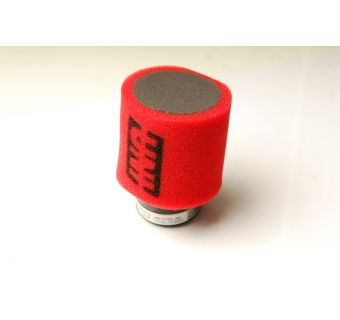 Luftfilter UNI 48-52mm Rak, Passar oko 28mm (LPI)