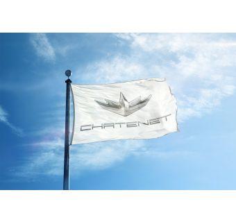 Chatenetflagga för flaggstång