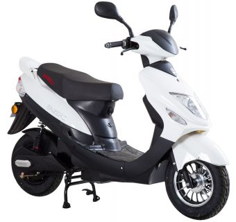 Viarelli Enzero Vit/Svart 45km/h electric BOSCH (klass 1 moped)