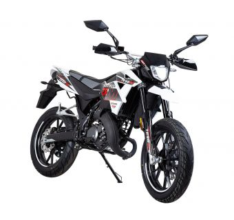 KSR-Moto TR-SM Comp svart/grå/vit 2-takt Euro4