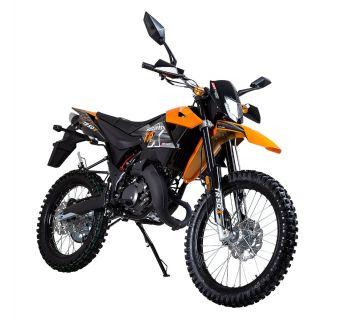 KSR-Moto TR-X svart/orange 2-takt Euro4